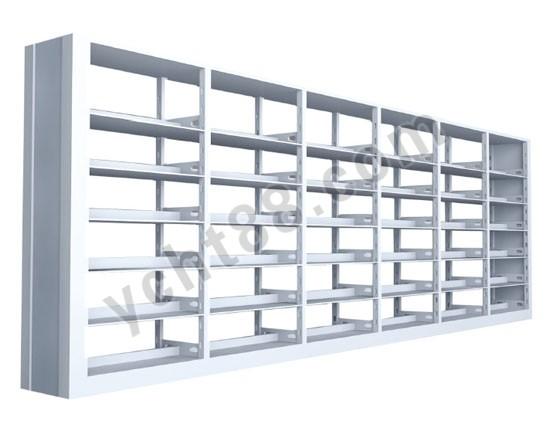 点击查看商品:高档六层双面双柱钢制书架